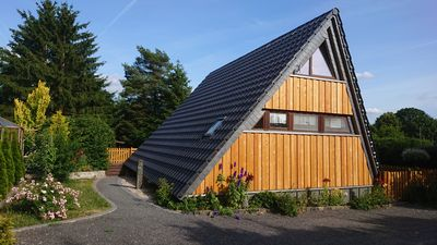 Photo for Holiday house Eifel near Freilinger See with outdoor pool tennis courts mini golf