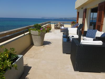Photo for LUXURY BEACH FRONT PENTHOUSE WITH STUNNING SEA VIEWS