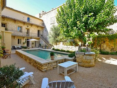 Photo for Bird Song, Charming Village House with Garden and Heated Swimming Pool near Uzes