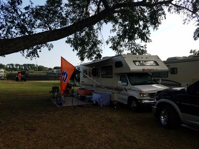 Photo for RV Setup on Campus - or local Camping Areas - Football season rental available