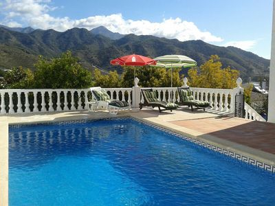 Photo for Villa with stunning view in a very quite location