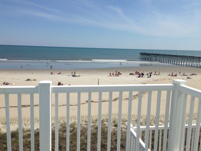 Photo for Oceanfront, private elevator, 4 bdrms, pool, hot tub, close to everything!