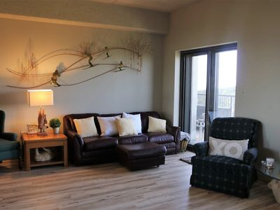 Photo for 7th Floor condo with amazing mountain view overlooking ski slope