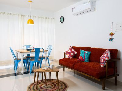 Photo for Sophisticated 3 BHK Penthouse in Candolim