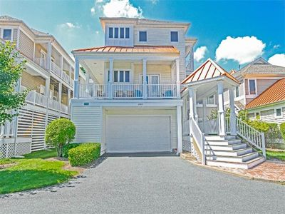 Photo for 5810P: Rare 5BR, 4.5BA Sea Colony West home | Private beach, pools, tennis ...
