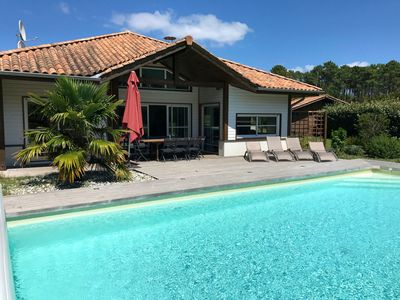 Photo for Villa Golf 'n Surf, classified 4 *, in a natural setting, close to the sea