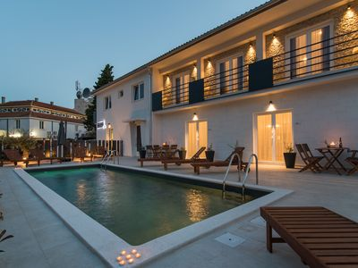 Photo for Modern 5-star CURICTA Design Apartment with pool in the center of Krk