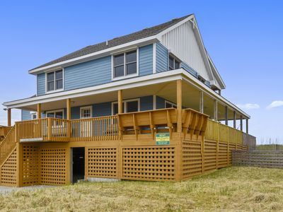 Photo for Oceanfront 6 bedroom 4 bathroom with massive decks in the heart of Kill Devil Hills!