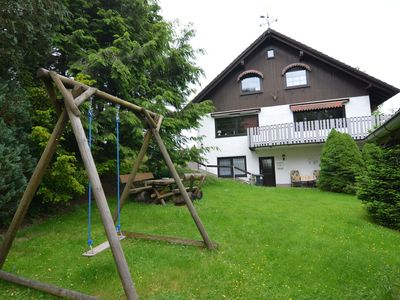Photo for Large holiday home in the Harz region featuring a balcony, garden and private entrance