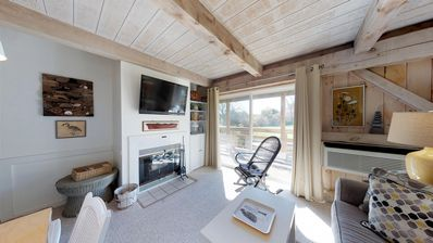 Photo for Lovely retreat 1/2 mile from the beach - shared pool, 3 tennis courts, & WiFi