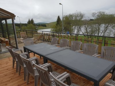 Photo for Chalet 13 pers SUPER BESSE facing the lake with very large terrace of 40m2 and BBQ