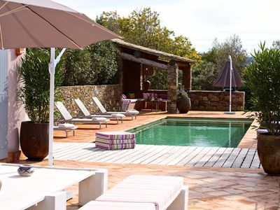 Photo for HEATED SWIMMING POOL! GRIMAUD, 4 SUITES, ST-TROPEZ Bay Linen included