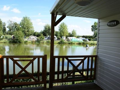 Photo for Camping Gerfleur *** - mobile home 4 people - 4 places (between 0 and 5 years)