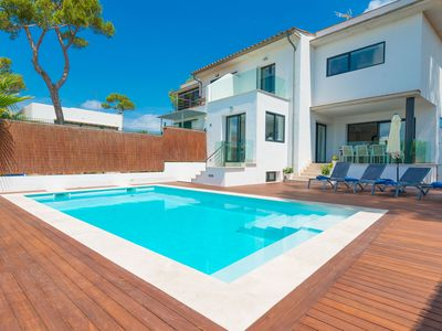 Photo for CASA MARIAN - Villa with private pool in Can Picafort.