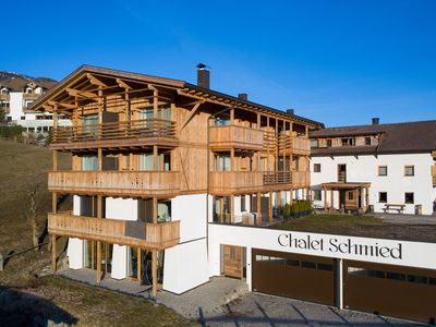Photo for Beautiful Holiday Apartment App. II-Chalet Schmied with Wi-Fi, Sauna, Balcony, Terrace & Mountain View; Parking Available