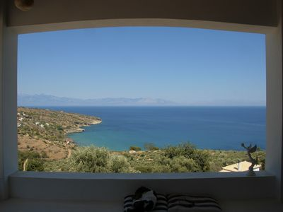 Photo for Beautiful House Near Koroni, Peloponnesos Stunning Sea View
