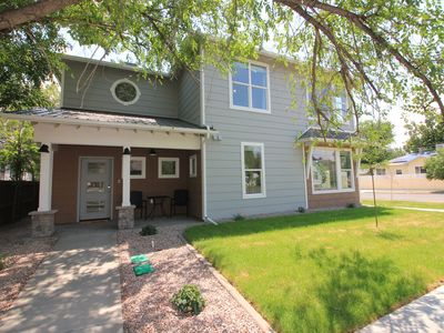 Photo for The Blue Bungalow: Brand New Home Downtown Grand Junction