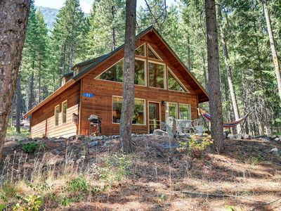 Photo for ★ Peaceful Forest Cabin near Mazama/Winthrop  ★ Easy access to N. Cascades NP ★