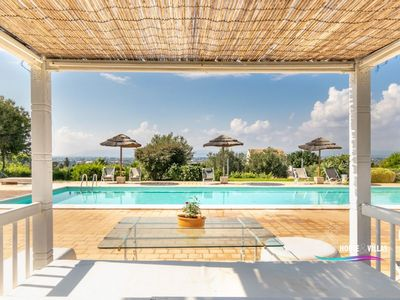 Photo for Swimming pool, garden, private parking