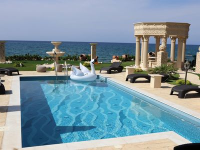 Photo for Imagine Renting Your Own 5-Star Private Cyprus Villa on the Beach, Paphos Villa 1410