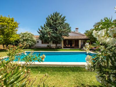 Photo for Majorcan holiday house with pool, in a quiet location, 3 bedrooms, air conditioning, WIFI