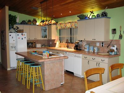 Fully equipt kitchen w/eat-in & formal dine open living/TV 4 great entertaining.