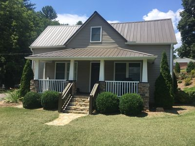 Photo for Completely remodeled farm house in the heart of Fairview NC