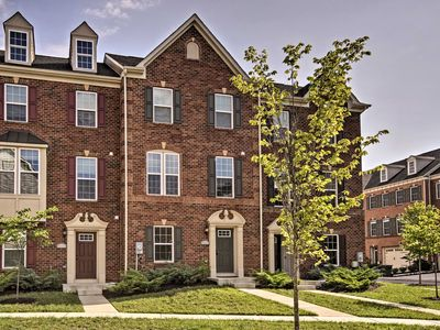 Photo for DC Area Townhome- 5 Min to UMD Campus & Metro Stop