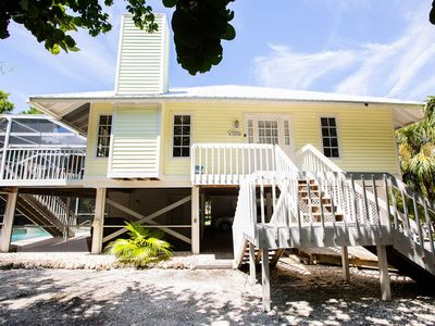 Photo for March 2020 available now! Affordable Sanibel East End Getaway with bikes & enclosed pool! 3 BR plus
