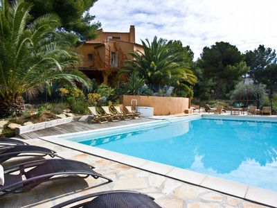Photo for 2 bedroom Villa, sleeps 5 in La Ciotat with Pool and WiFi
