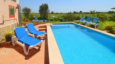 Photo for Traditional Countryside Villa with Private Pool just 2 km to the Beaches of Sa Rapita and Es Trenc !