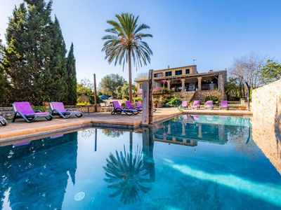 Photo for Romantic Country House with Pool, Garden, Terrace and Wi-Fi