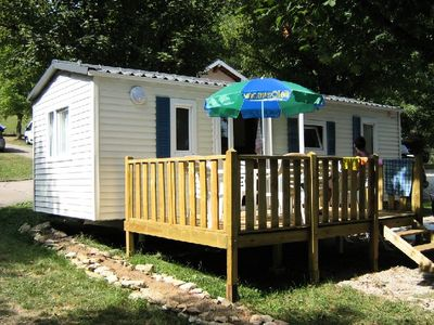 Photo for Camping Le Chanet *** - Mobile Home Utinam 3 Rooms 4 People
