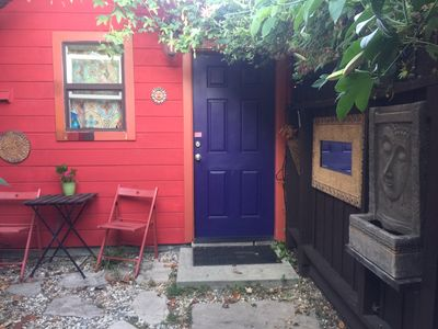 Photo for Colorful Cottage for Your Next Urban Adventure to Oakland!