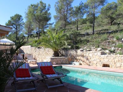 Photo for Perfect holiday Sitges, private villa, pool, beach, lots of character!