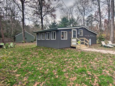 Photo for NEW! Creekside 'Stoney Cabin'-15 Min to Harrisburg