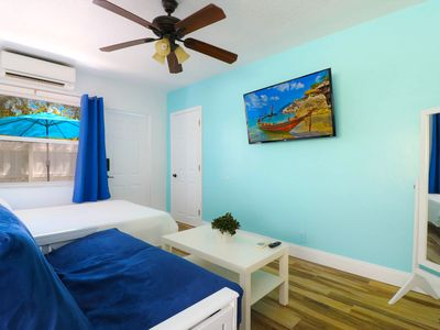 Photo for Studio●Heated & Saltwater Pool●Beach 9min●Wilton Drive 2min●Sleeps 4!   ★★★★★