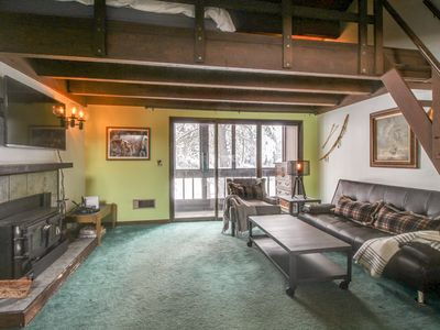 Photo for Two-story waterfront home in wooded setting w/ easy ski access!