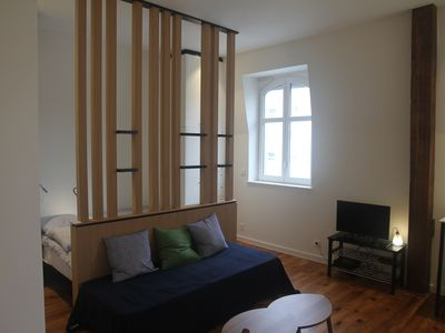 Photo for Large studio in the heart of Biarritz