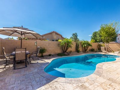 Photo for Backyard Oasis !!!, Private Pool, Remodeled Rancher, South Facing Corner Lot