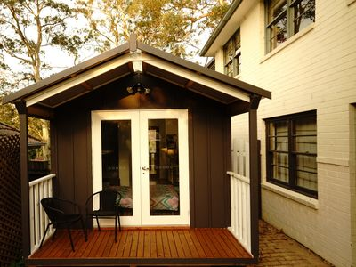 Photo for Boutique self-contained cabin with great privacy and lifestyle