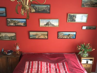 This is our downstairs first room, it is warm and pleasant and welcoming