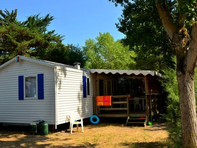 Photo for Campsite L'Eden ***** - Mobile Home Provencal 3 Rooms 4/6 Persons