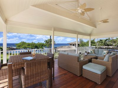 Photo for Baby Beach Hale - 5 Bedroom: 5 BR / 3.5 BA home in Koloa, Sleeps 10