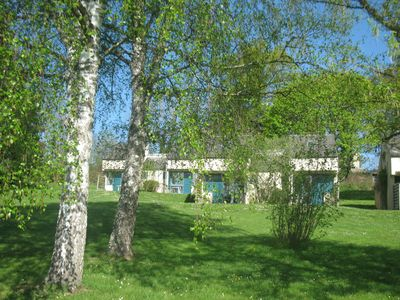 Photo for Cottage 4 people in small village, ideal family, heated pool ...