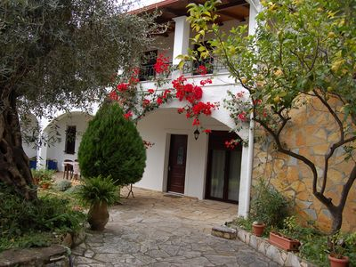 Photo for Galini Apartments is located in Barbati-Glyfa about 22 km north of Corfu
