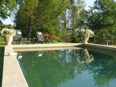 Photo for Provencal house of character for 3 people in Lacoste in the heart of the luberon