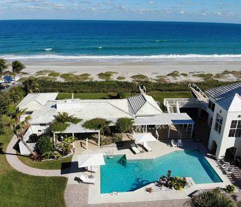 Photo for Beachfront Cottage, Best Location w/ Heated Pool