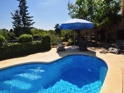 Photo for The Old Post Office, nestled in the hills with a  private pool.