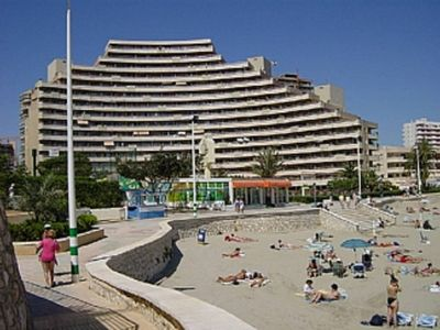 Photo for Voramar Beach front 1 bedroom 4 person, 3 Private  Pools. Magnifisent Sea Views